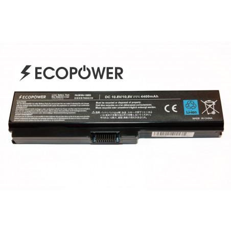 Toshiba PA3817u-1Brs EcoPower 6 celių 4400mah baterija