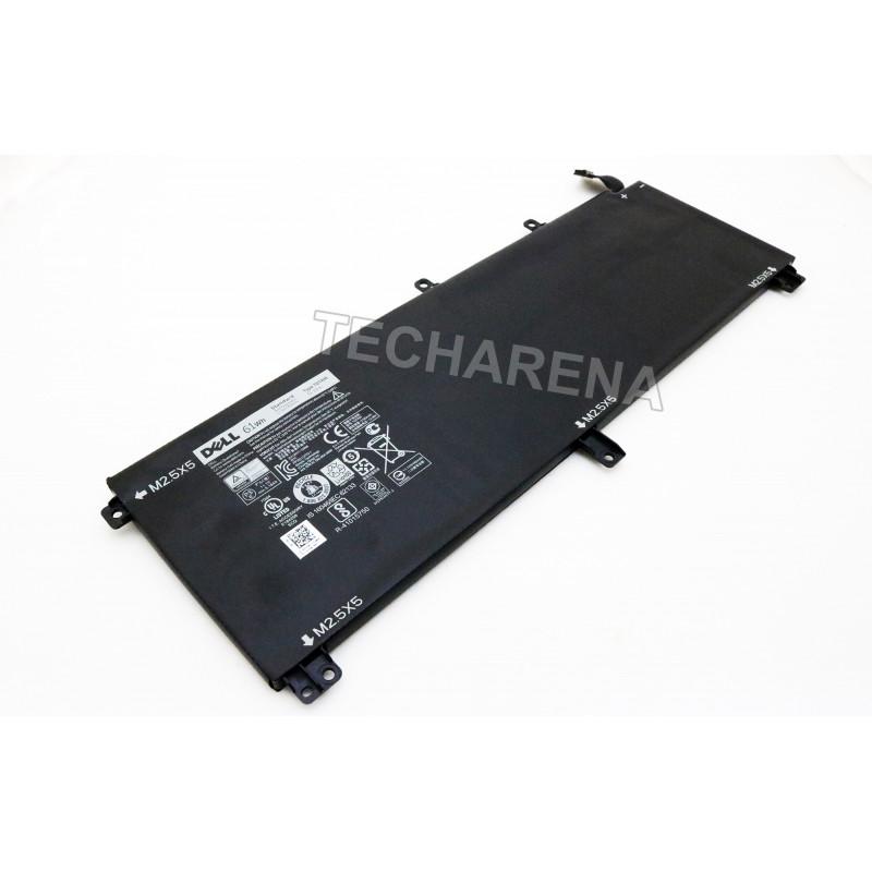 Dell T0TRM H76MY Dell Precision M3800 XPS 15 9530 originali 61wh baterija