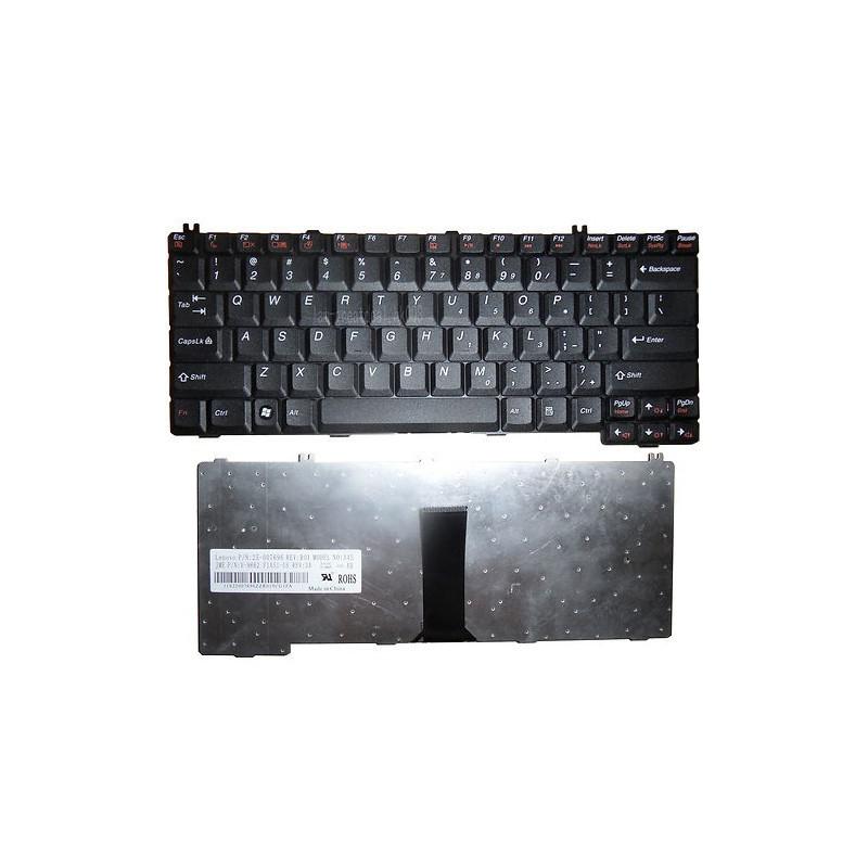 Lenovo 3000 C100 C200 G230 G430 G450 G530 N100 N200 US juoda klaviatūra
