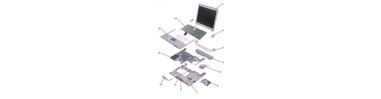 Nešiojamų kompiuterių dalys ir aksesuarai
