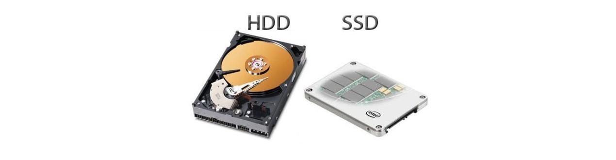 Kietieji diskai (HDD SSD)