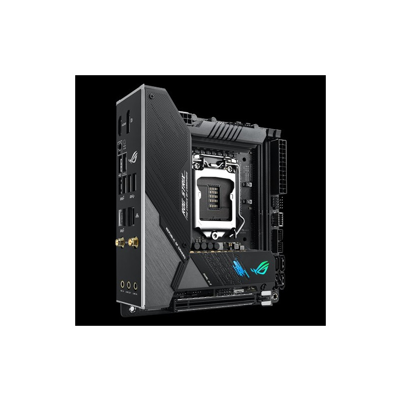 Asus ROG STRIX Z490-I GAMING Memory slots 2, Processor family Intel, Mini ITX, DDR4, Processor socket LGA1200, Chipset Intel Z