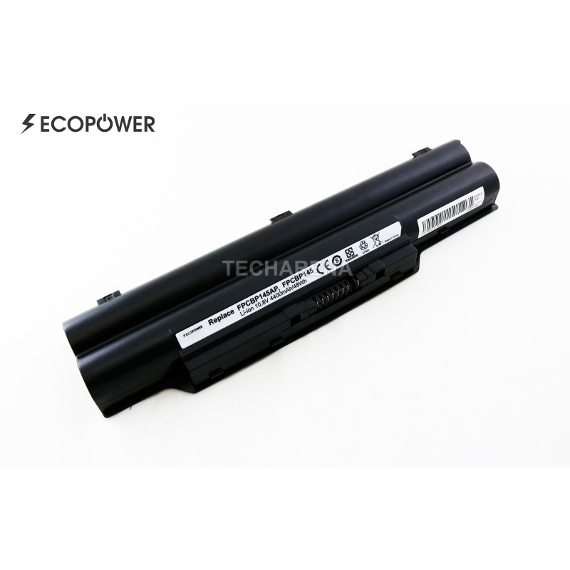 Fujitsu FPCBP145AP FPCBP145 EcoPower 6 celių 4400mAh baterija