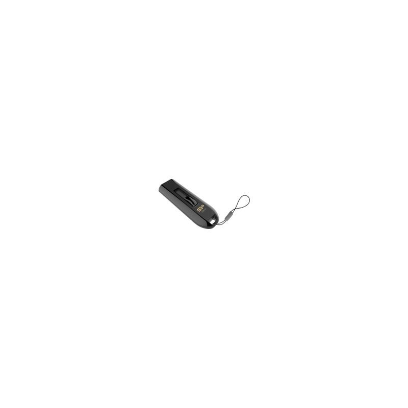Silicon Power Blaze B21 32GB USB 3.0 Juoda atmininė