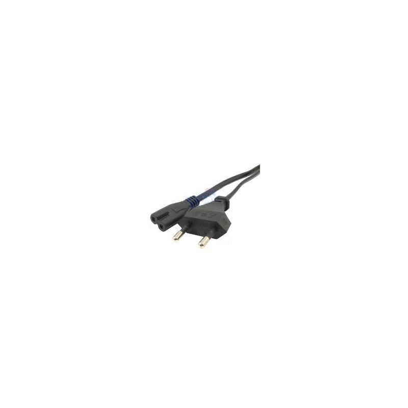 Dvišakis maitinimo kabelis / laidas skirtas nešiojamo kompiuterio maitinimo blokui 1.8m.