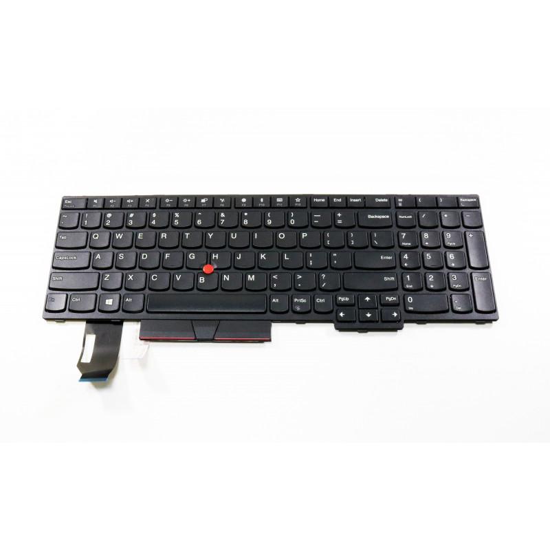 Lenovo ThinkPad E580 E585 E590 US klaviatūra su pašvietimu