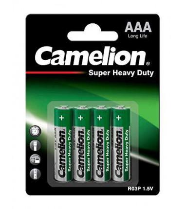 Camelion AAA/LR03 Super Heavy Duty 1.5V, 4vnt