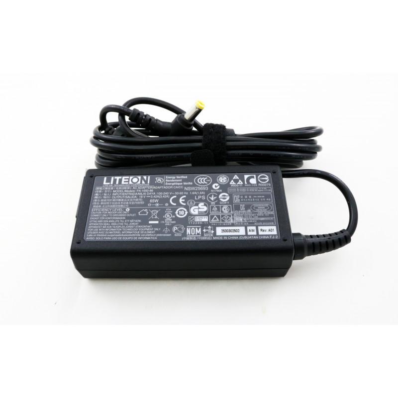 Acer LITEON PA-1650-86 19v 3.42a 5.5*1.7 originalus įkroviklis 65w