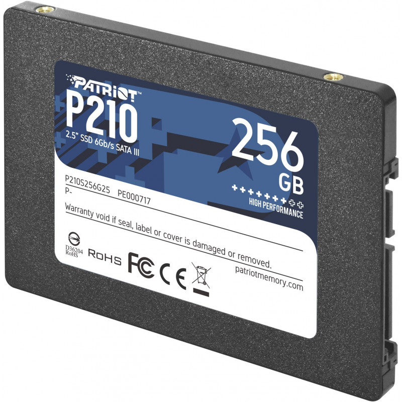 PATRIOT P210 SSD 2.5inch 256GB SATA 3