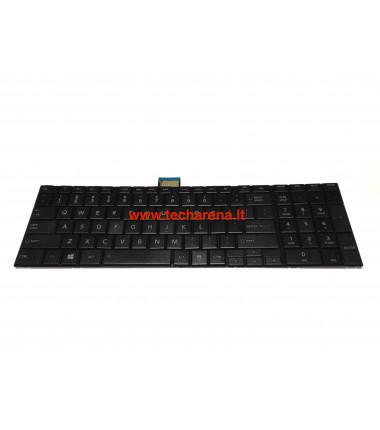 Toshiba Satellite C50 C50D C50-A C50D-A C55 C55D C55t US klaviatūra