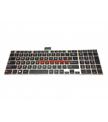 Toshiba Satellite C70 C70D C75 C75D C75DT US klaviatūra su rėmeliu