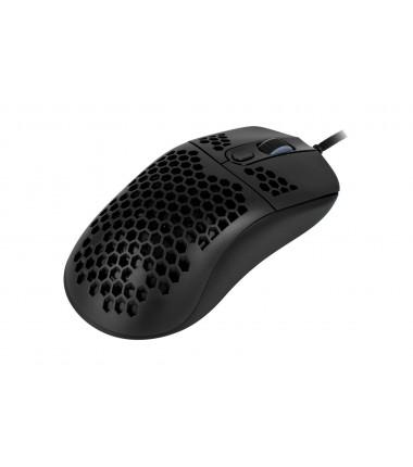 Arozzi Favo Ultra Light Gaming Mouse, RGB LED light, Black, Gaming Mouse