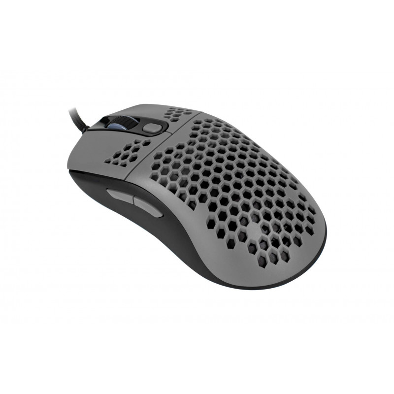 Arozzi Favo Ultra Light Gaming Mouse, RGB LED light, Grey/Black, Gaming Mouse