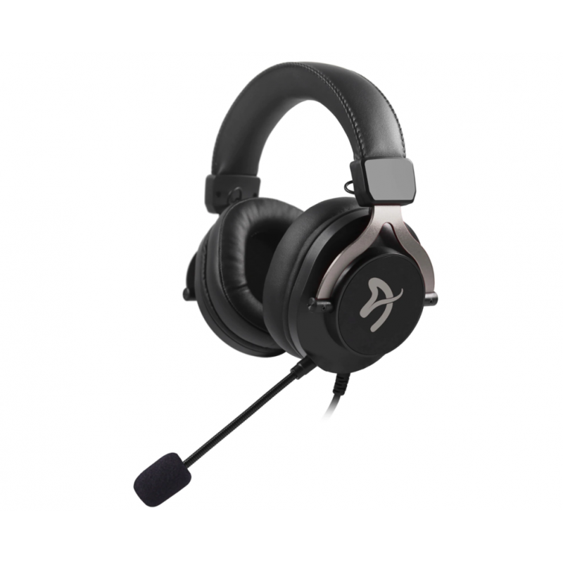 Arozzi Gaming Headset Aria 3.5mm, Black