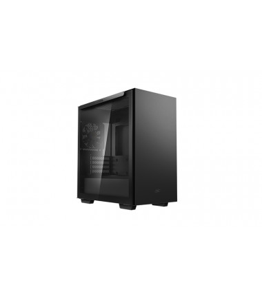 Deepcool MACUBE 110 Black, ATX, 4, USB3.0x2, Audiox1, ABS+SPCC+Tempered Glass, 1×120mm DC fan