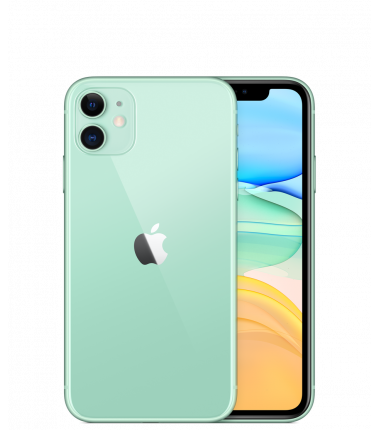 "Apple iPhone 11 Green, 6.1 "", IPS LCD, 828 x 1792 pixels, Hexa-core, Internal RAM 4 GB, 64 GB, Single SIM, Nano-SIM and eSIM, 3G"