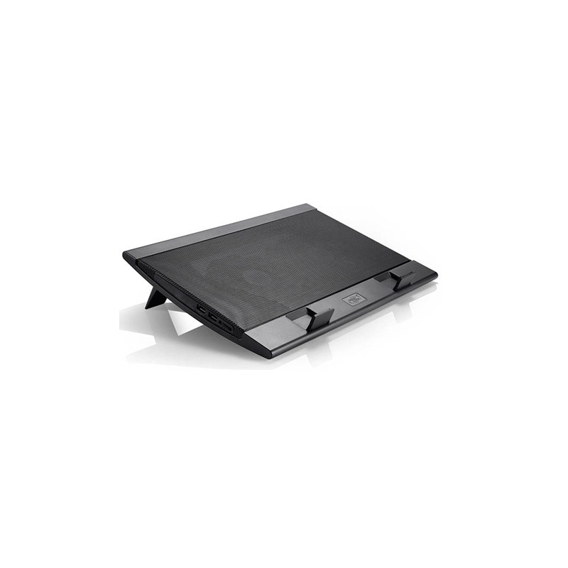 "deepcool Laptop cooler Wind Pal FS , slim, portabel , highe performance, two 140mm fans, 2 xUSB Hub, up tp 17""   382x262x46mm mm"