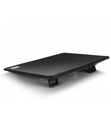 """Deepcool N1 black Notebook cooler up to 15.4"""" 700g g, 350x260x26 mm"""