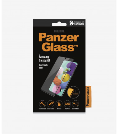 PanzerGlass Case Friendly, For Samsung Galaxy A51, Black, Clear Screen Protector