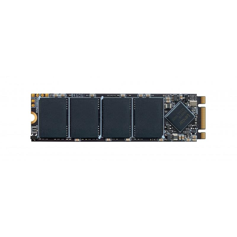 Lexar SSD LNM100 512 GB, SSD form factor M.2 2280, SSD interface SATA III, Read speed 550 MB/s