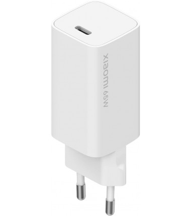 Xiaomi Fast Charger with GaN Tech Mi 65W White, 65 W, 3 A