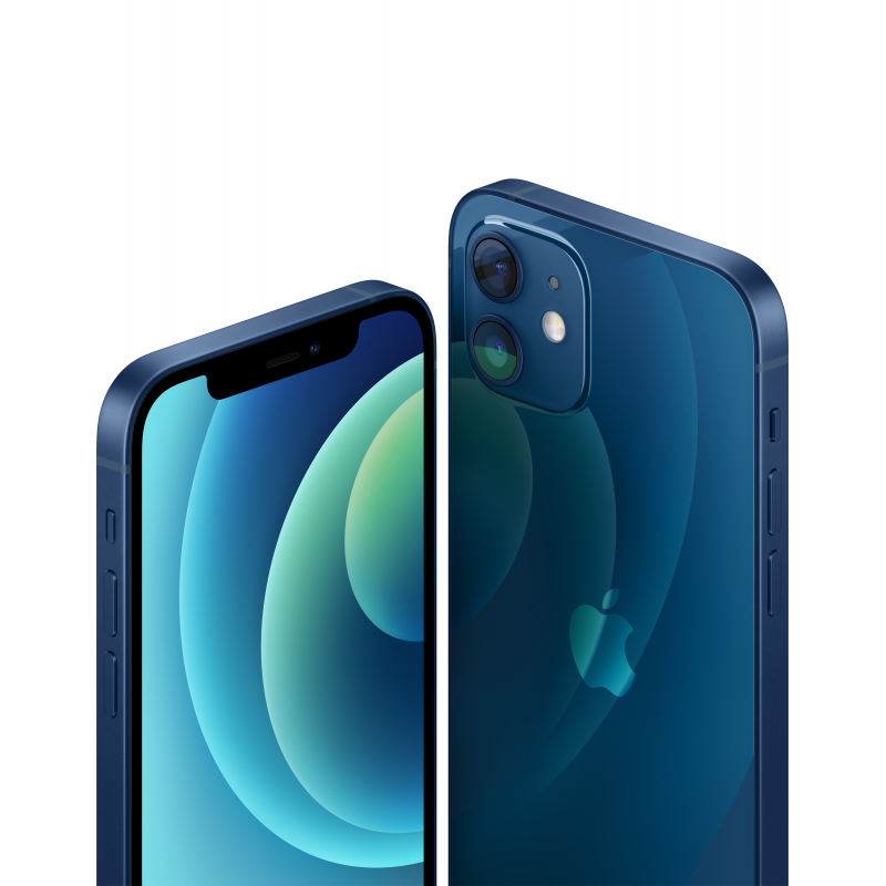 "Apple iPhone 12 Blue, 6.1 "", XDR OLED, 2532 x 1170 pixels, Hexa-core, Internal RAM 4 GB, 256 GB, Single SIM, Nano-SIM and eSIM,"