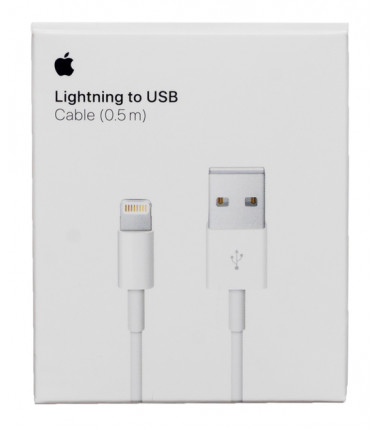 Originalus Apple lightning 0.5m. USB laidas - kabelis