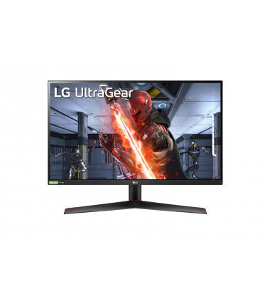 "LG UltraGear HDR Monitor 27GN800-B 27 "", IPS, QHD, 2560 x 1440 pixels, 16:9, 1 ms, 350 cd/m², Black/Red"