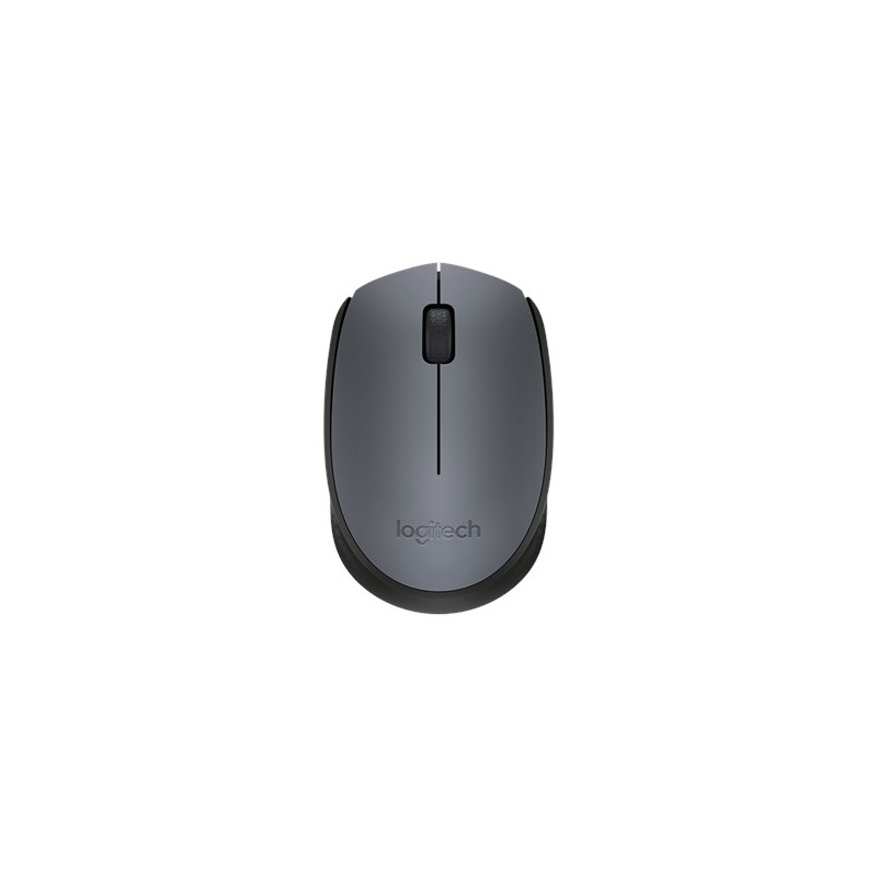 Logitech Wireless Mouse M170 - GREY - 2.4GHZ