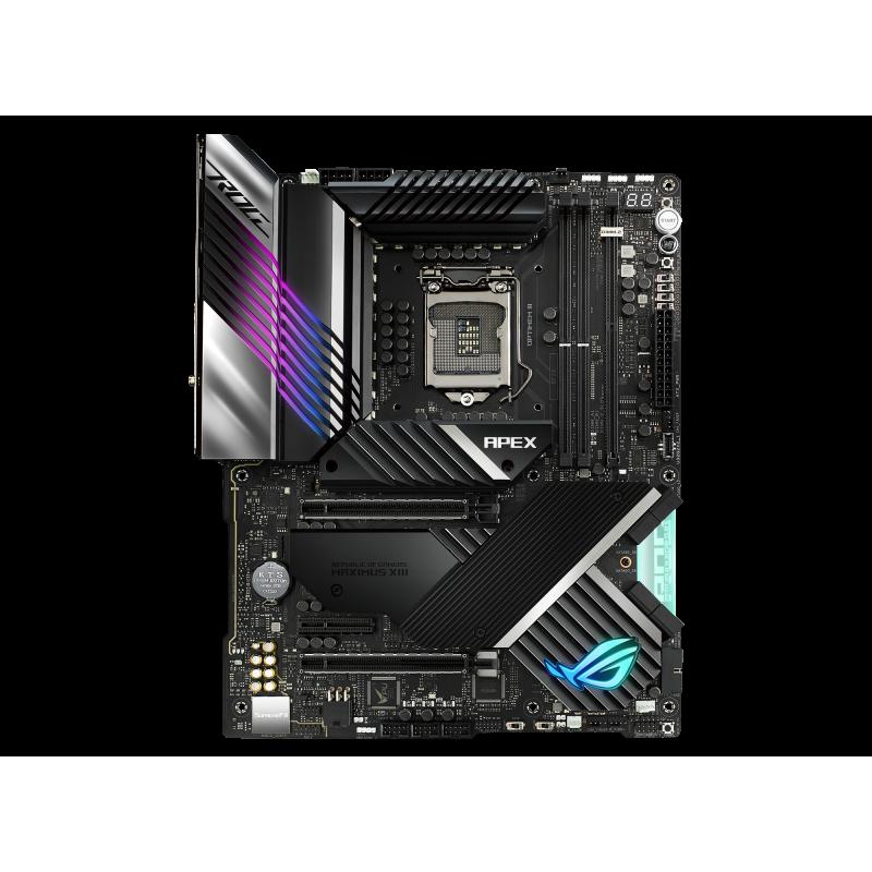 Asus ROG MAXIMUS XIII APEX Processor family Intel, Processor socket LGA1200, DDR4, Memory slots 2, Supported hard disk drive int