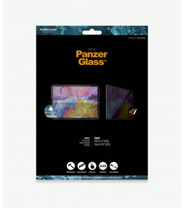 "PanzerGlass iPad Pro 11"" (2020)/ iPad 10.8"", Clear Screen Protector, Privacy"