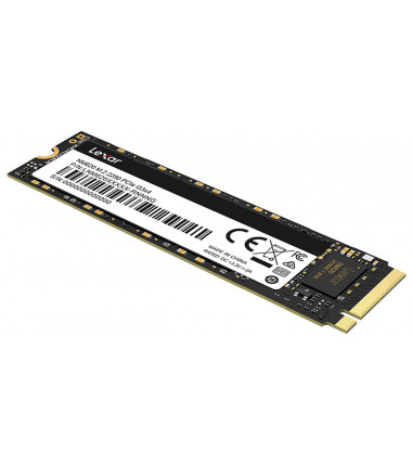 Lexar SSD NM620 512 GB, SSD form factor M.2 2280, SSD interface PCIe Gen3x4, Write speed 2400 MB/s, Read speed 3300 MB/s