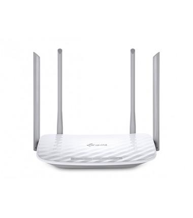 TP-LINK Router Archer C50 802.11ac, 300+867 Mbit/s, 10/100 Mbit/s, Ethernet LAN (RJ-45) ports 4, Antenna type 2xExternal, 1xUSB