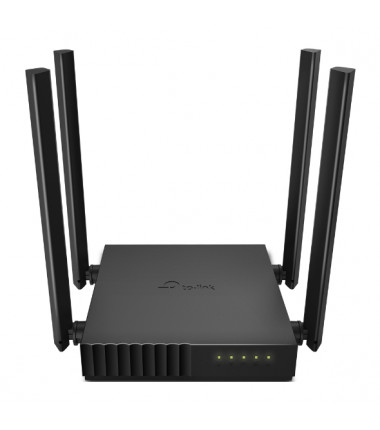 TP-LINK Dual Band Router Archer C54 802.11ac, 300+867 Mbit/s, 10/100 Mbit/s, Ethernet LAN (RJ-45) ports 4, MU-MiMO Yes, Antenna