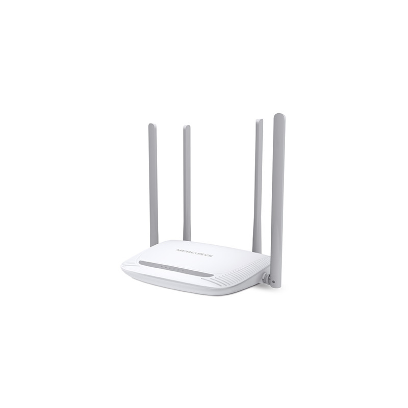 Mercusys Enhanced Wireless N Router MW325R 802.11n, 300 Mbit/s, 10/100 Mbit/s, Ethernet LAN (RJ-45) ports 3, Antenna type 4xFixe