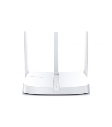 Mercusys Wireless N Router MW305R 802.11n, 300 Mbit/s, 10/100 Mbit/s, Ethernet LAN (RJ-45) ports 3, Antenna type 3xFixed, White