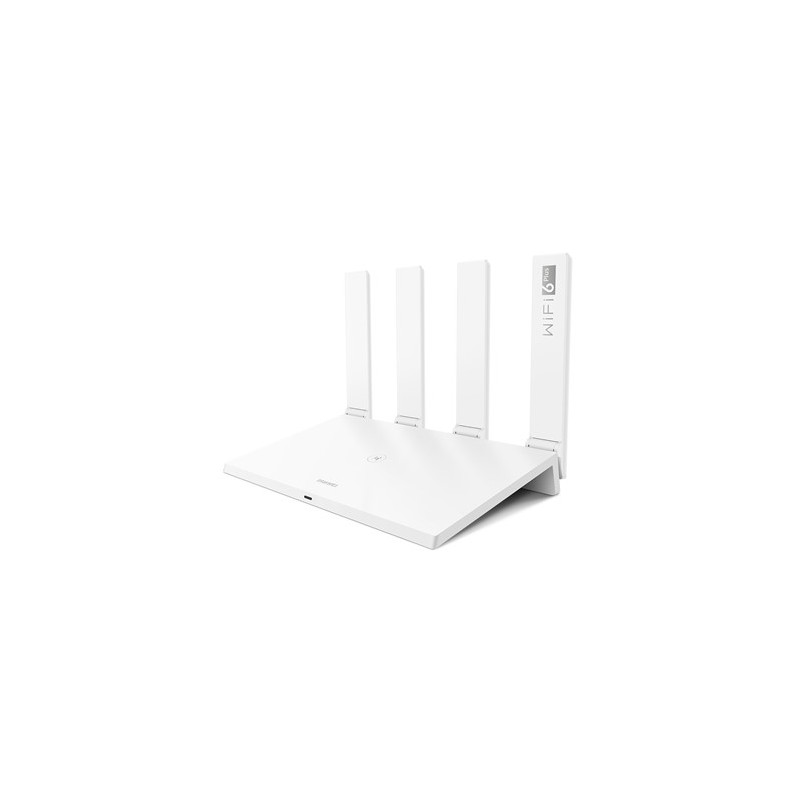 Huawei WiFi Router  AX3 (Dual-core) 802.11ax, 574+2402 Mbit/s, 10/100/1000 Mbit/s, Ethernet LAN (RJ-45) ports 3, Antenna type 4x