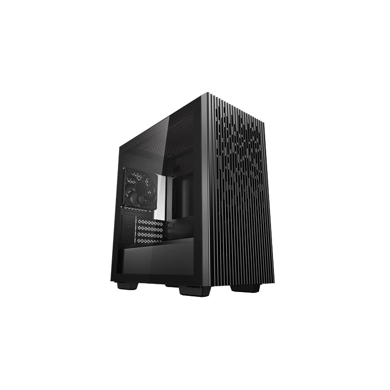 Deepcool MATREXX 40 Black, Micro ATX, 4, USB 3.0 x 1, USB 2.0 × 1, Audio x 1, ABS+SPCC+Tempered Glass, 1 × 120mm DC fan