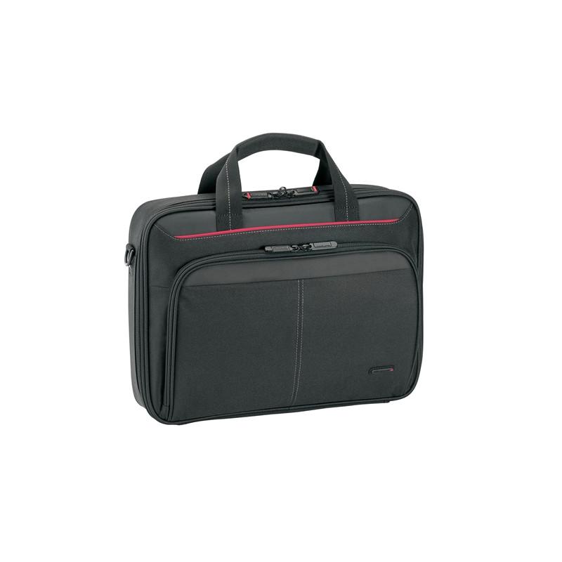 "Targus Classic Fits up to size 13.4 "", Black, Messenger - Briefcase, Shoulder strap"