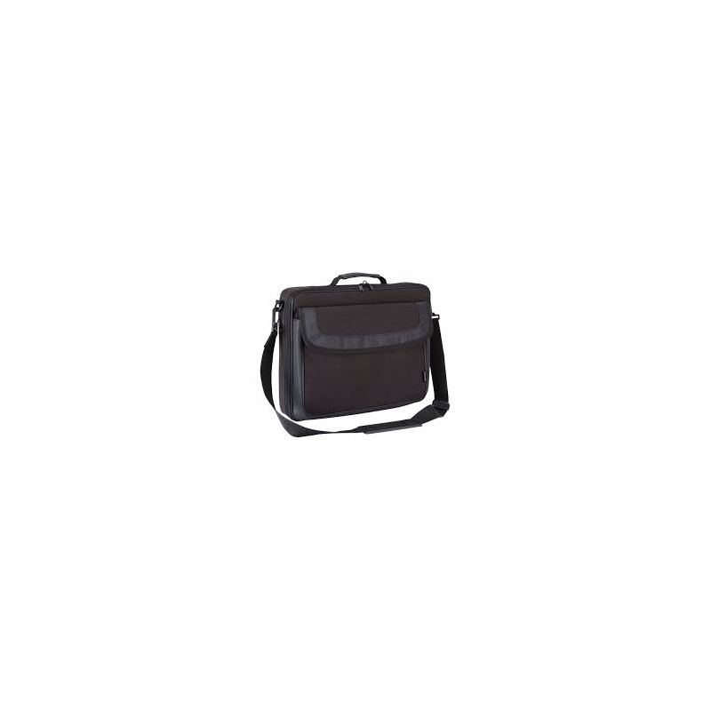 """Targus Classic Clamshell Case Fits up to size 15.6 """", Black, Shoulder strap, Messenger - Briefcase"""