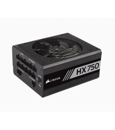 Corsair Fully Modular PSU HX750 Professional Platinum 750 W, 80 PLUS PLATINUM certified