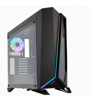 Corsair RGB Computer Case Spec-Omega Side window, Black, Mid-Tower