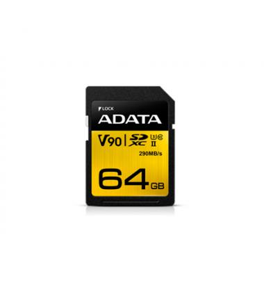 ADATA Premier ONE UHS-II U3 64 GB, SDXC, Flash memory class 10