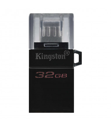 Kingston DataTraveler microDuo 3.0 G2 32 GB, USB Type-A and microUSB, Black