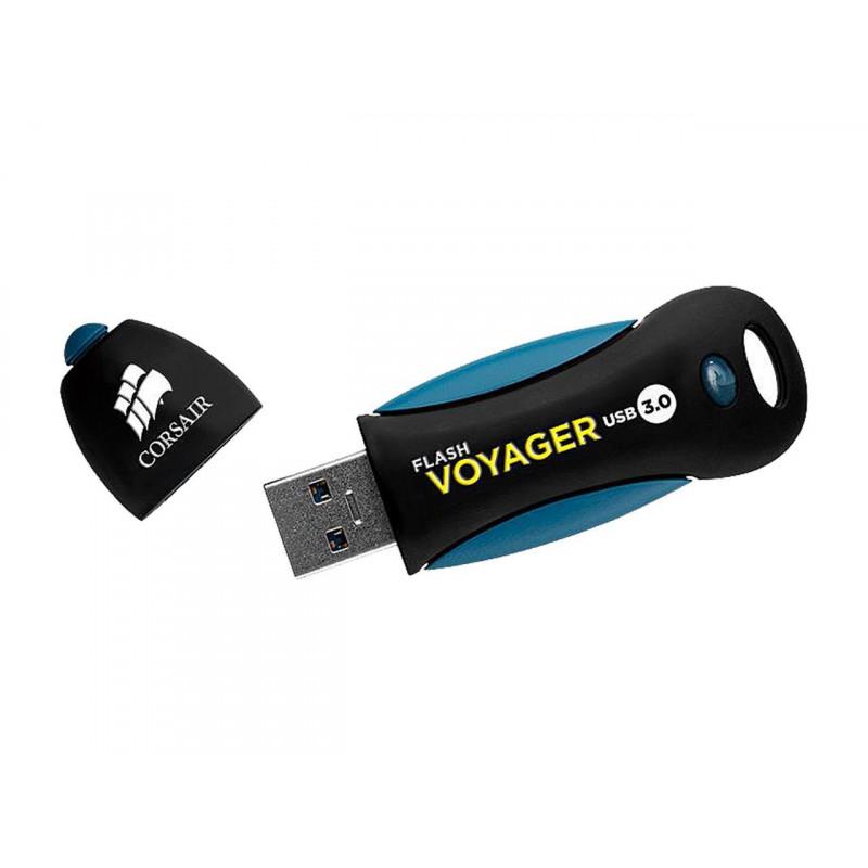 Corsair Flash Drive Voyager 256 GB, USB 3.0, Black/Blue