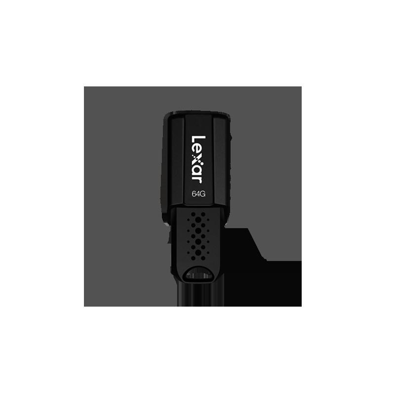 Lexar Flash drive JumpDrive S80 64 GB, USB 3.1, Black, 60 MB/s, 150 MB/s
