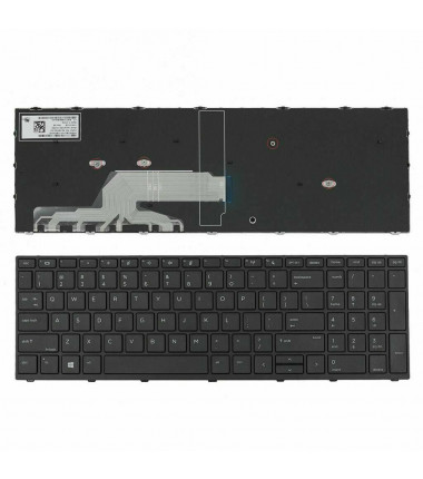 Hp L01028-B31 Probook 450 455 470 G5 klaviatūra US