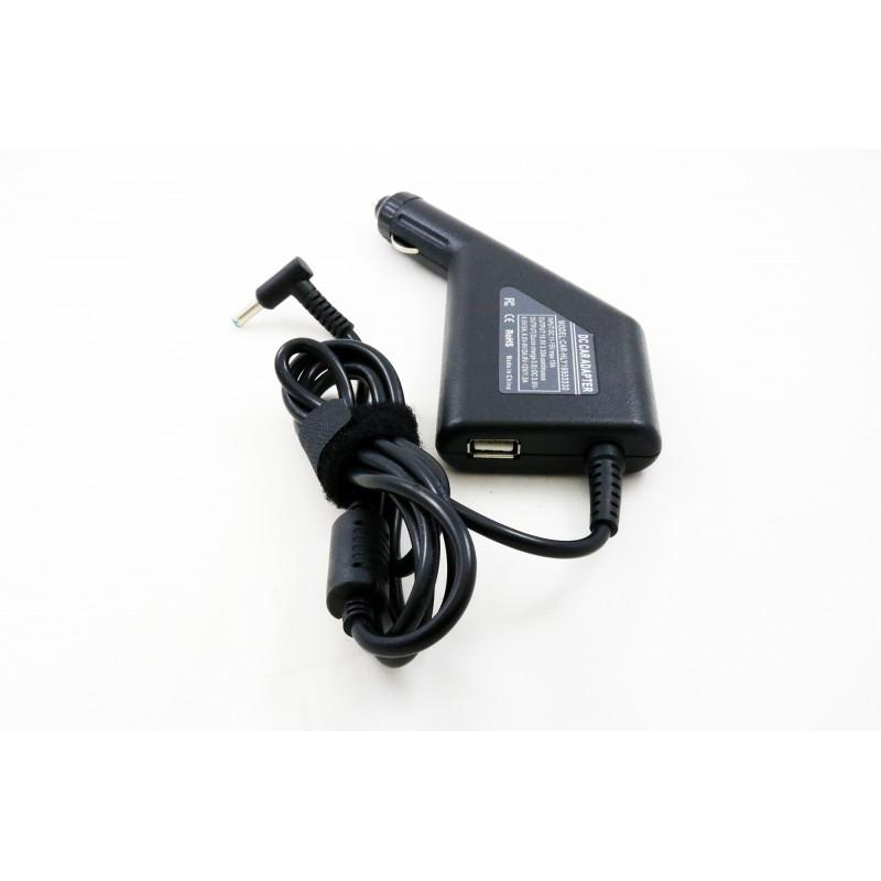 Hp 19.5v 3.33a 4.5*3.0 (su adata) automobilinis įkroviklis 65w + USB fast charge