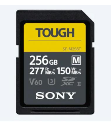 Sony Tough Memory Card UHS-II 256 GB, MicroSDXC, Flash memory class 10
