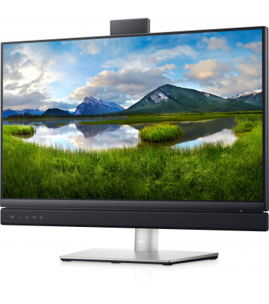 """Dell LCD Video Conferencing Monitor C2422HE 24 """", IPS, FHD, 1920 x 1080, 16:9, 8 ms, 250 cd/m², Silver"""